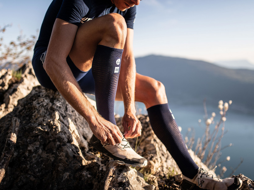 Full Socks Race & Recovery - UTMB 2019 BLUE