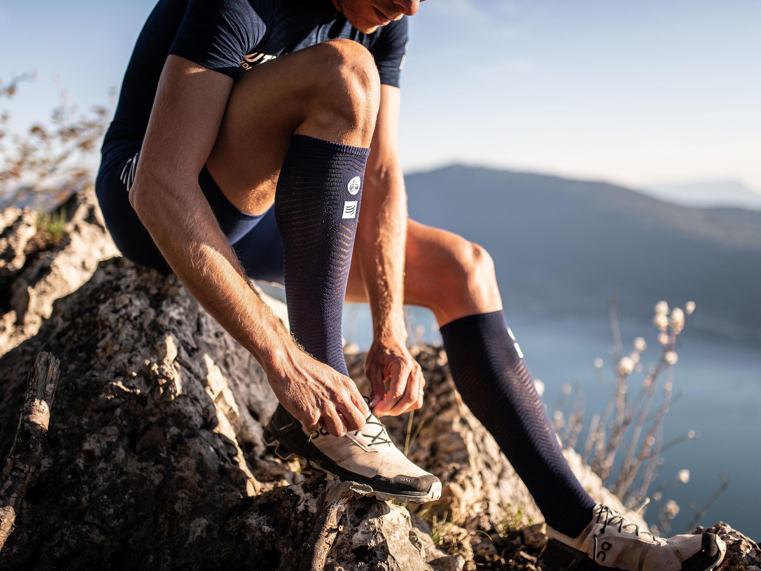 Calcetines altos de competición y recuperación - UTMB® 2019