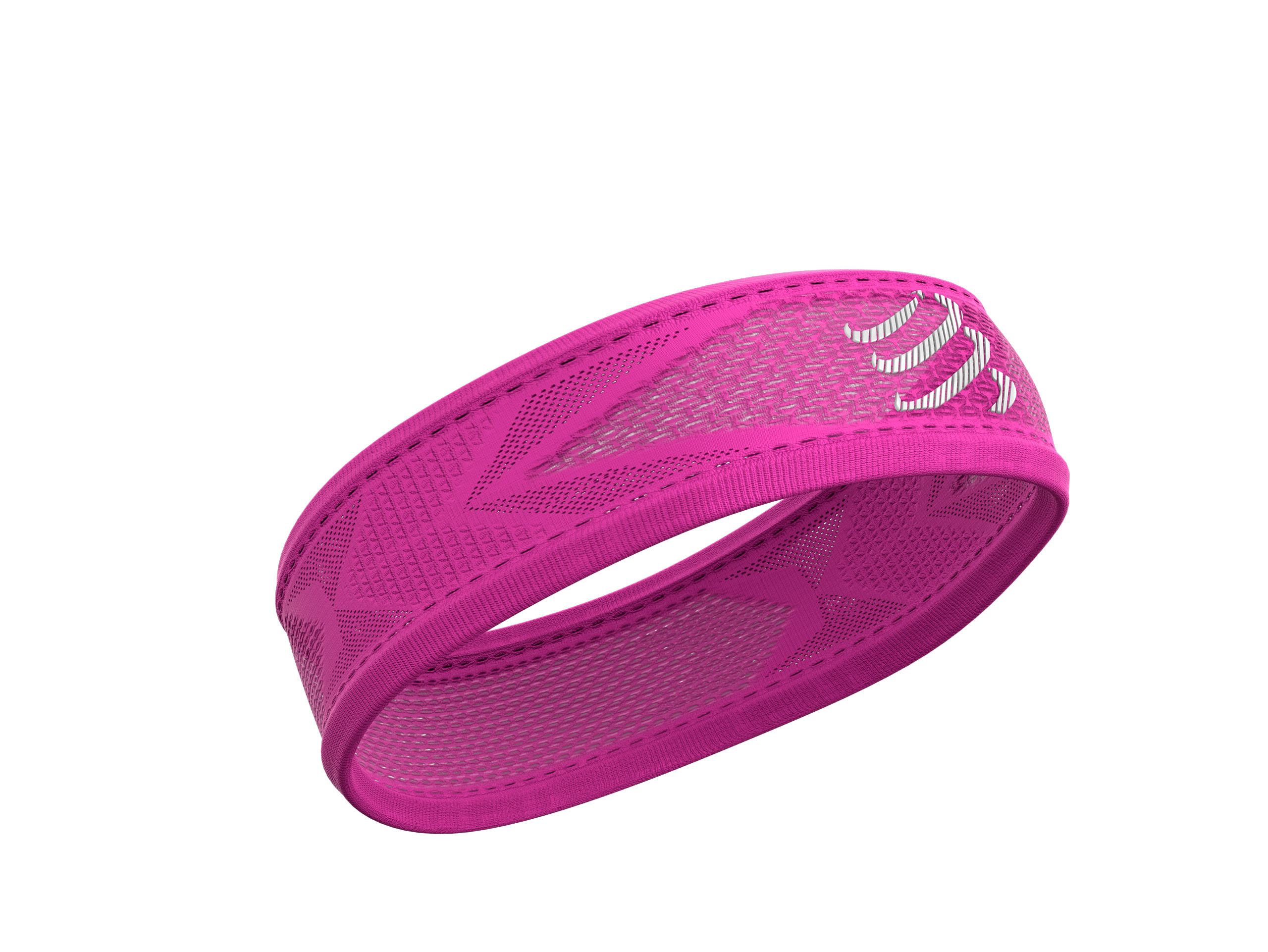 Thin HeadBand On/Off FLUO PINK