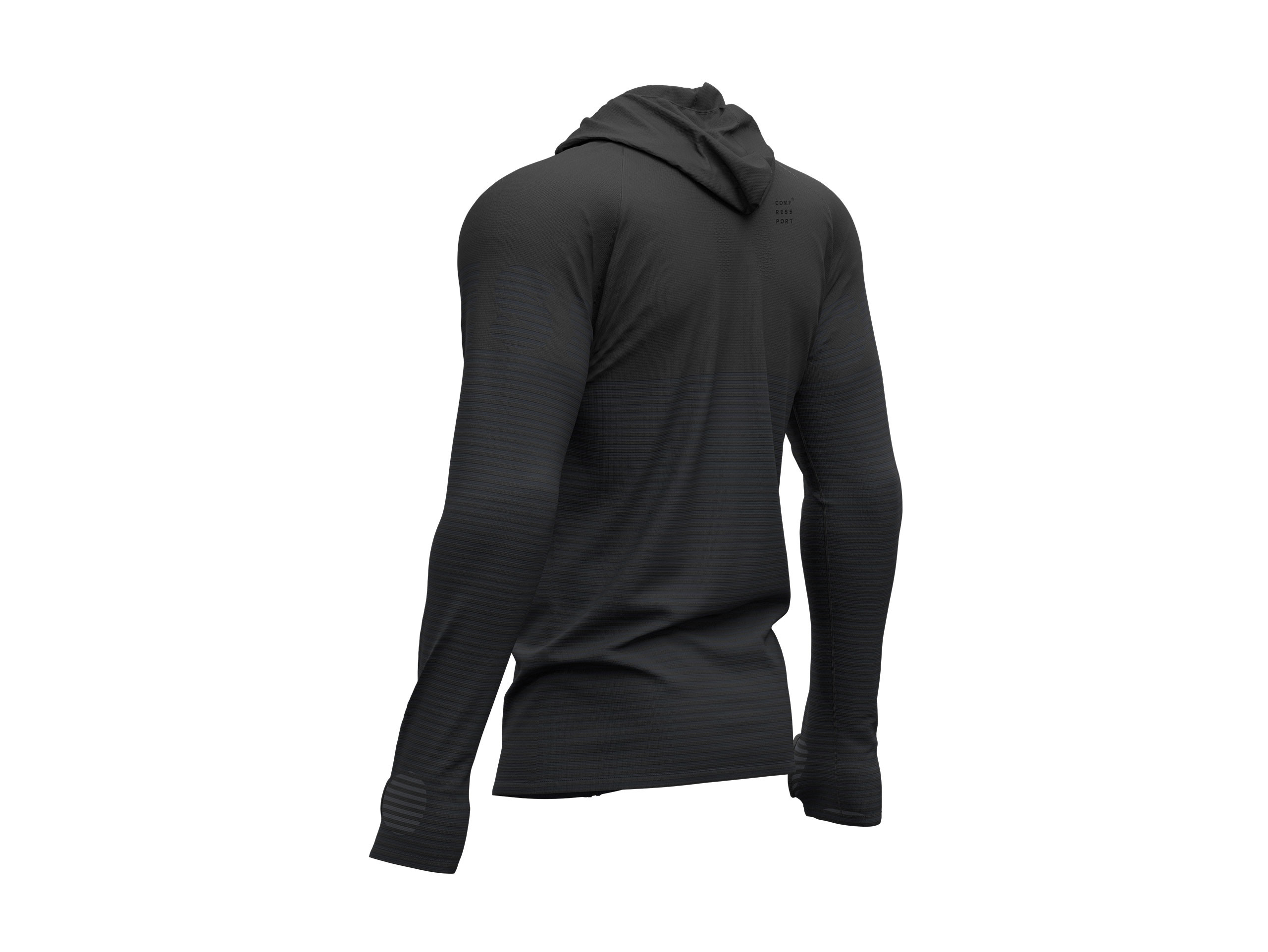 3D Thermo Seamless Zip Hoodie - Black Edition 2019