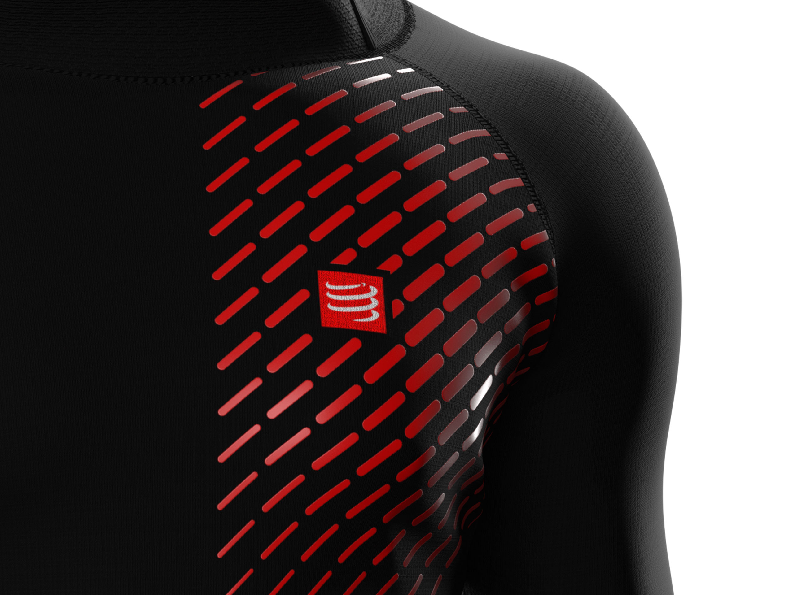 Sudadera deportiva 3D Thermo UltraLight negra