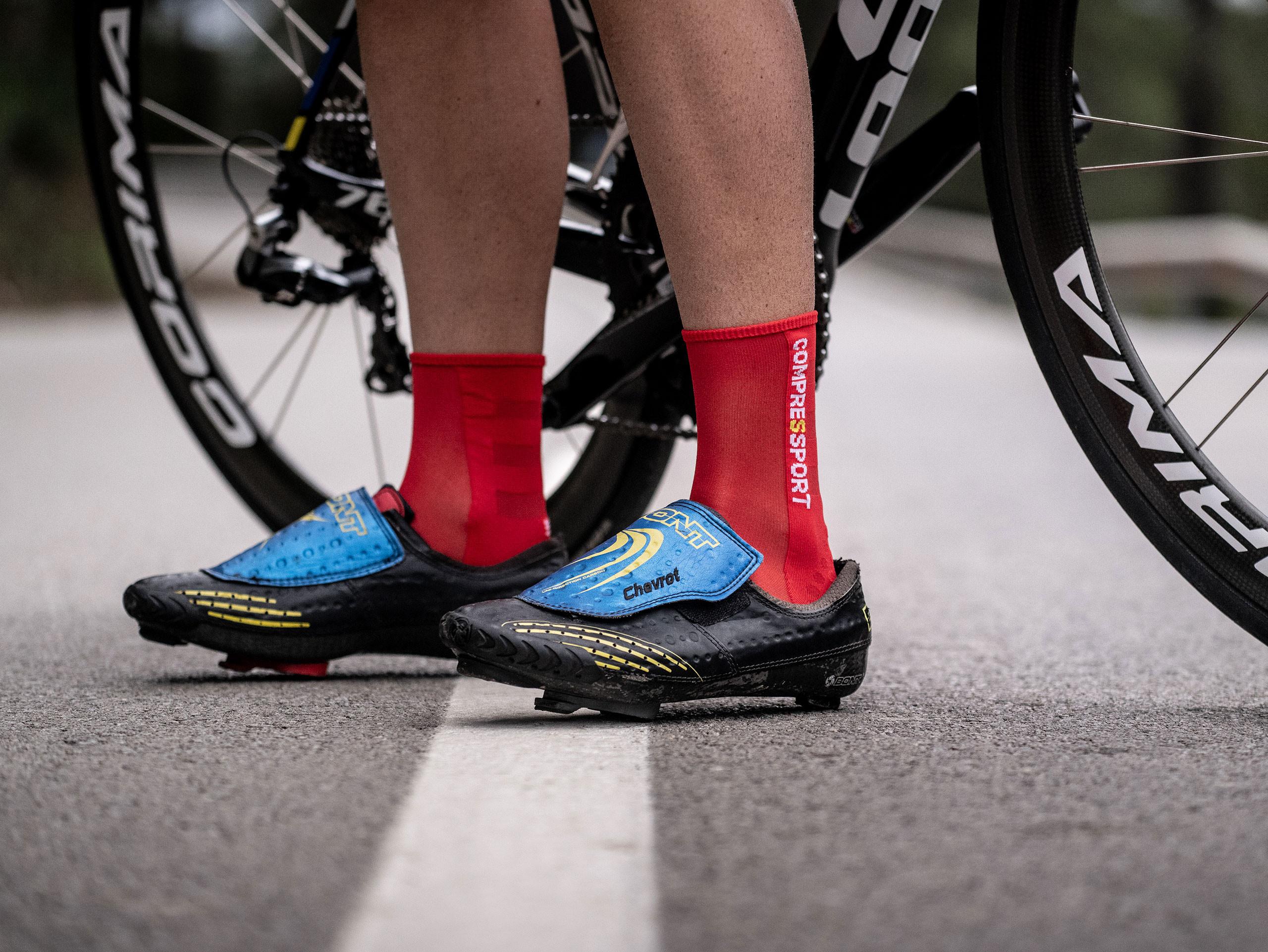 Pro Racing Socks v3.0 Ultralight Bike rot