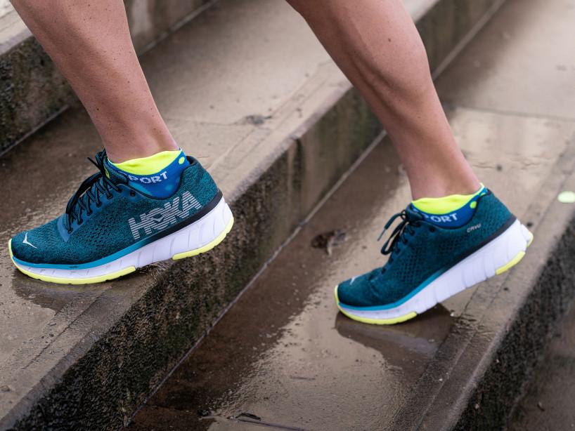 Pro Racing Socks v3.0 Ultralight Run Low FLUO BLUE