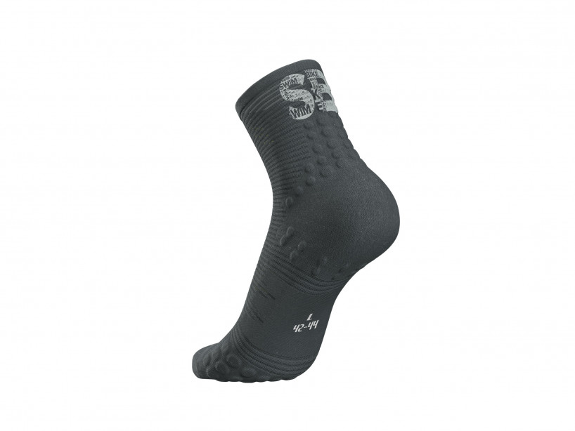 Pro Racing Socks v3.0 Run High - Born To SwimBikeRun 2019 DARK GREY
