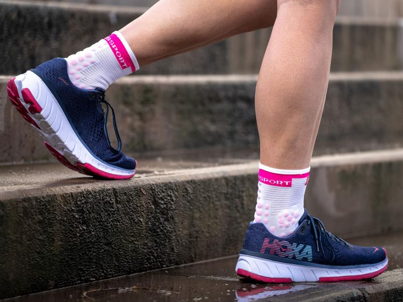 Pro Racing Socks v3.0 Run High WHITE/PINK