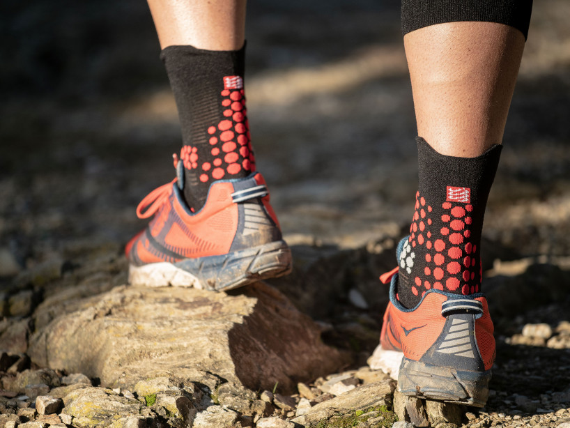 Pro Racing Socks v3.0 Trail BLACK/RED