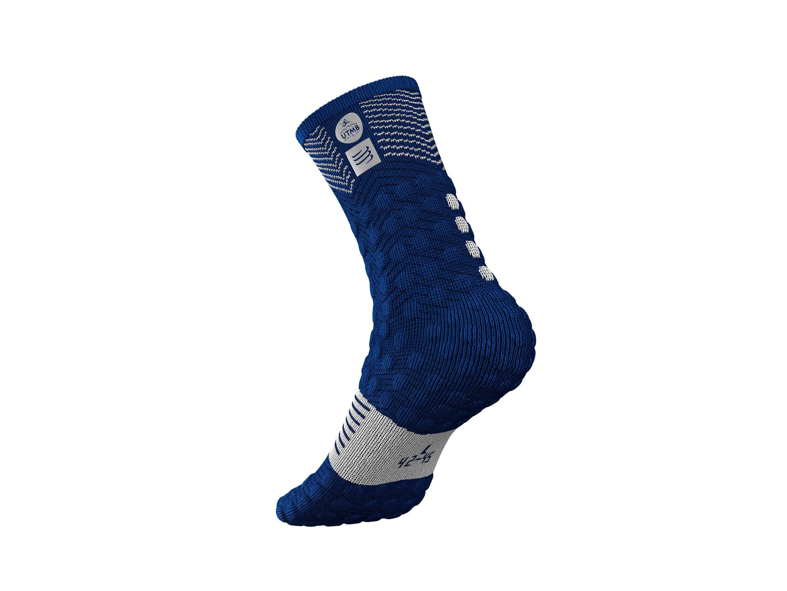 Pro Racing Socks v3.0 Ultra Trail - UTMB 2019 BLUE
