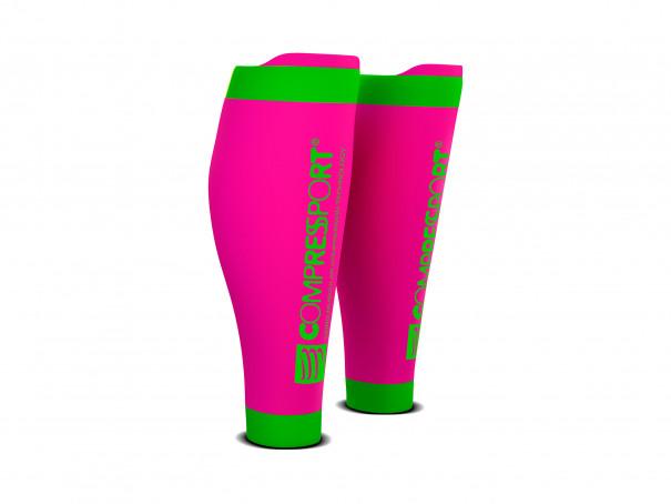 Pantorrilleras R2V2 rosa flúor