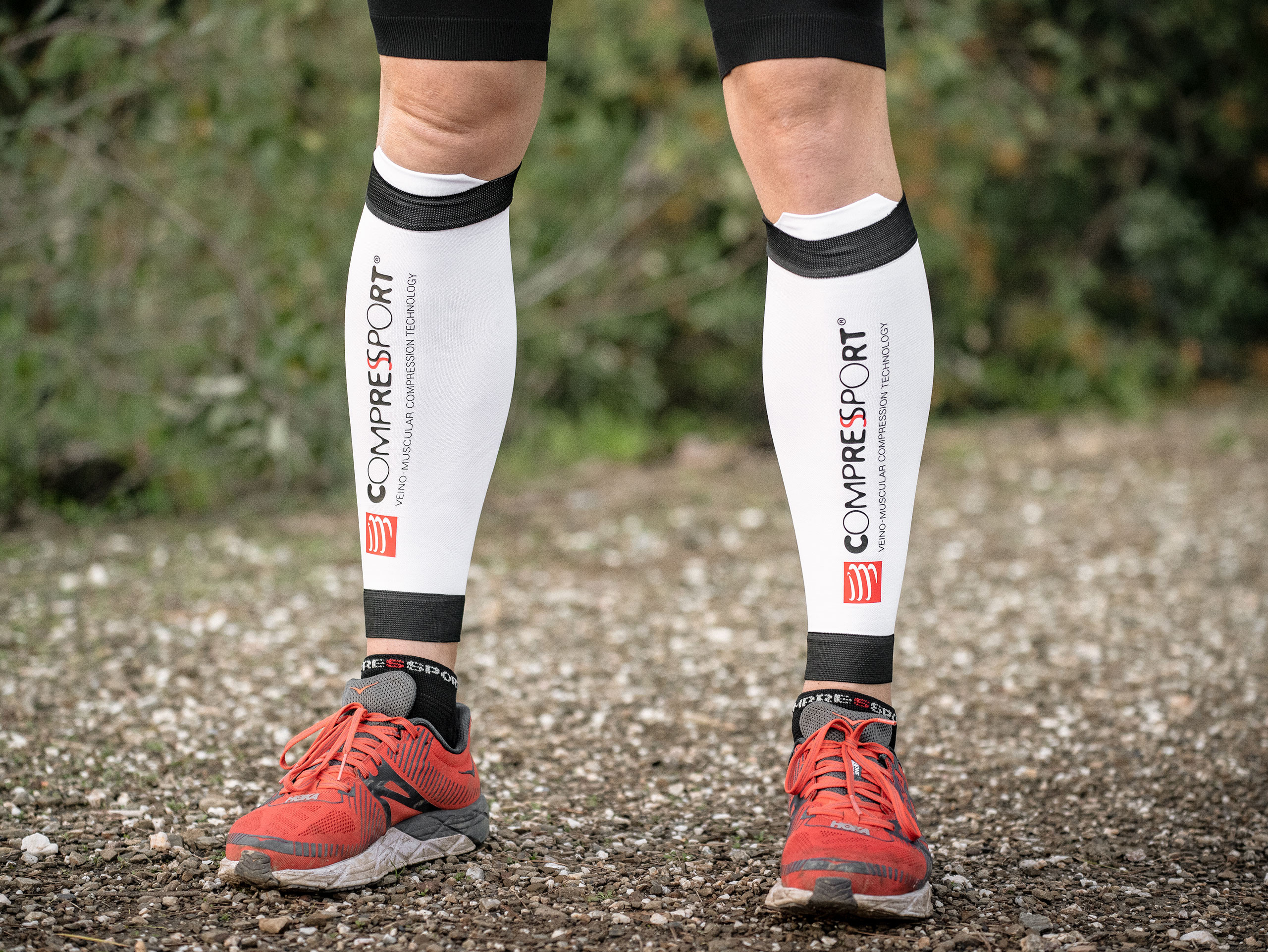 R2V2 calf sleeves white