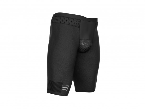 Triathlon Under Control Short schwarz