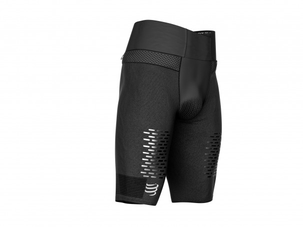 Trail Running Under Control Short schwarz