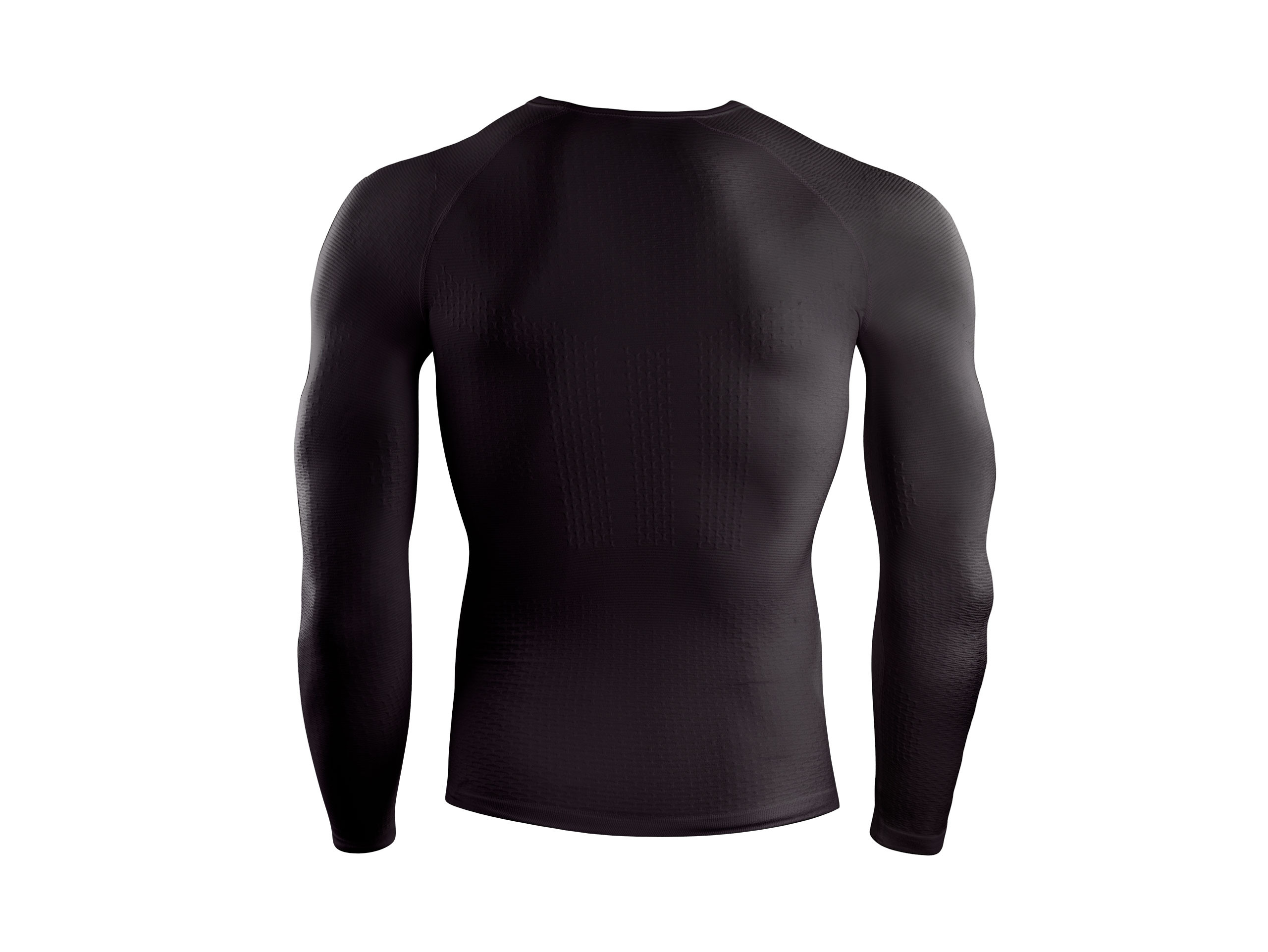 3D Thermo UltraLight LS Shirt schwarz