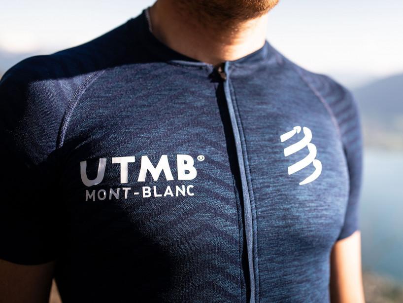 Ultra-Trail Postural SS Top - UTMB 2019 BLUE