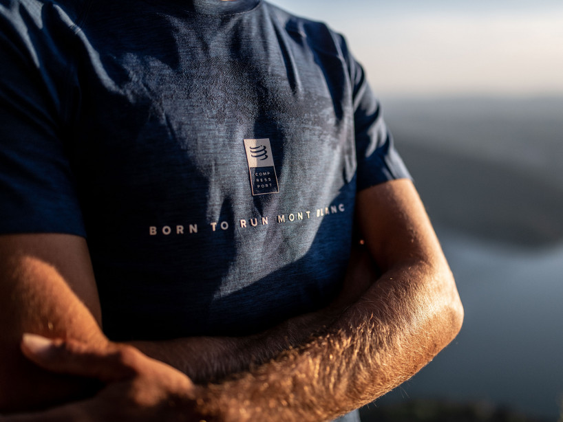 Training Tshirt SS - Mont Blanc 2019 BLUE