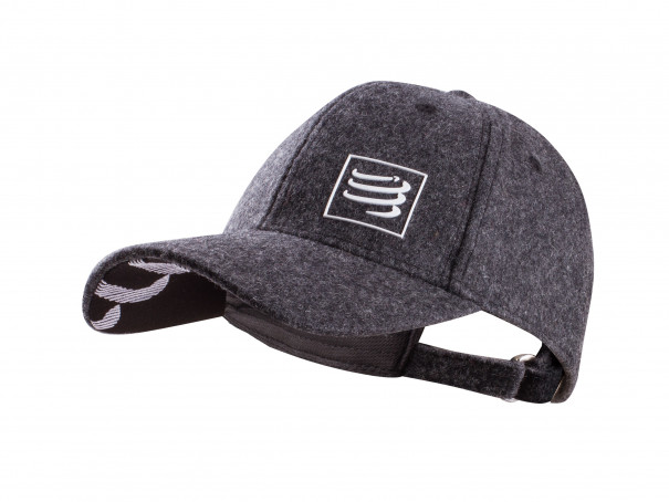 Wool Cap grey melange