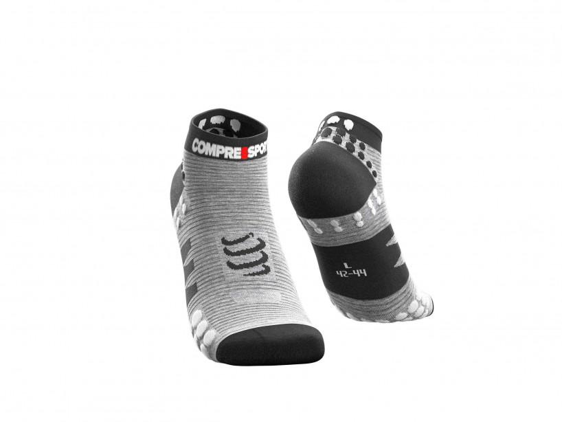 Pro Racing Socks v3.0 Run Low Grau-meliert