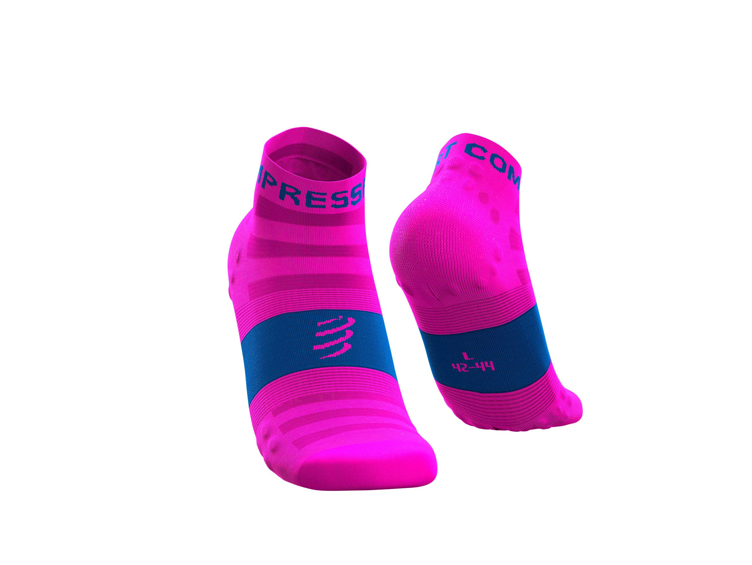 Pro Racing Socks v3.0 Ultralight Run Low fluo pink