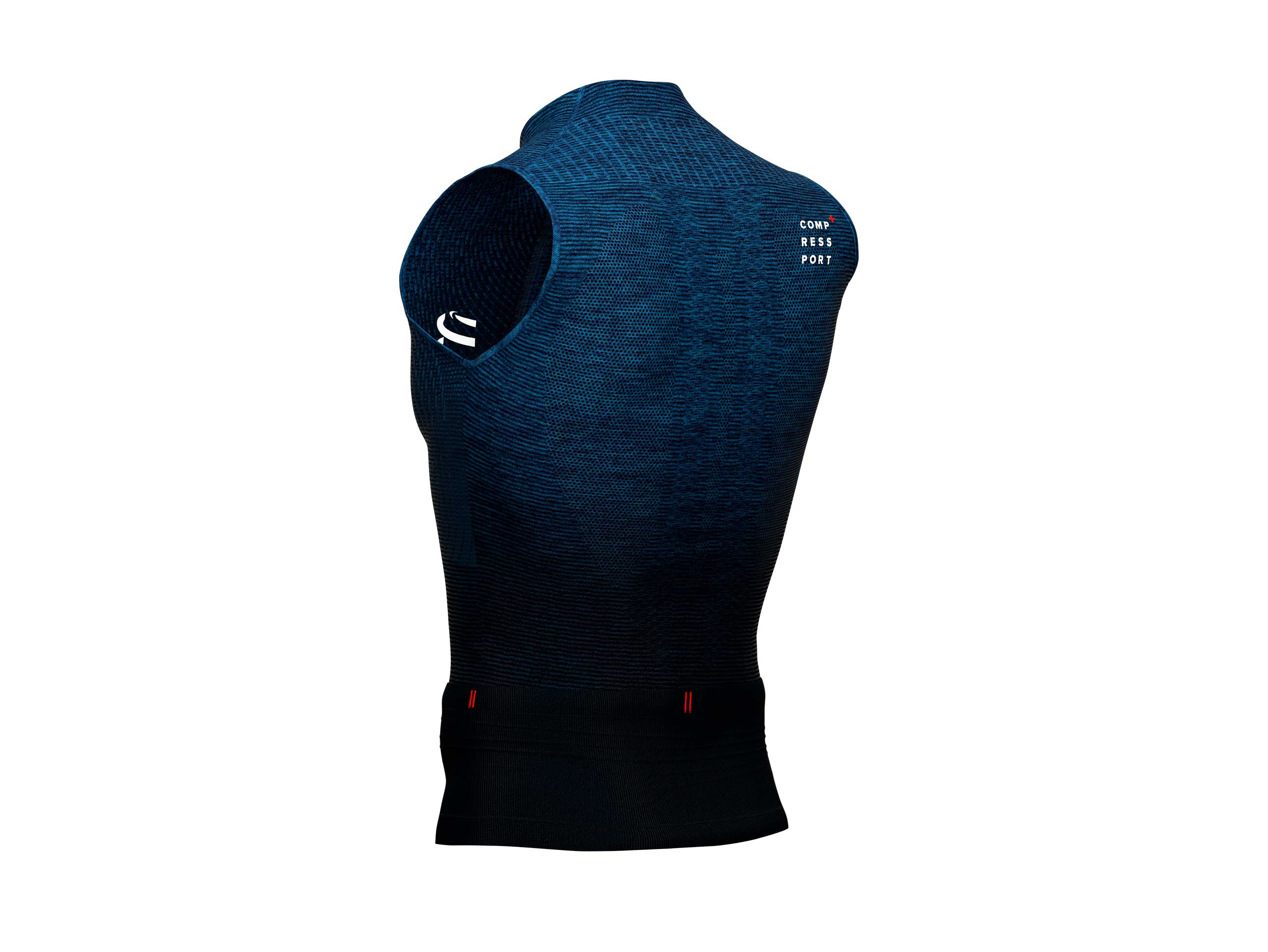 Trail Postural Tank Top blue melange