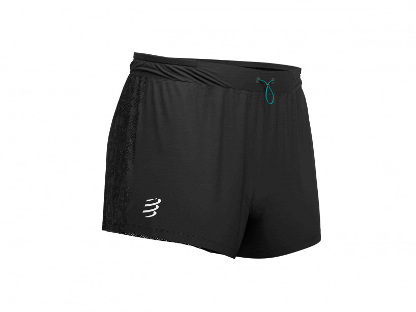 Racing Split Short noir