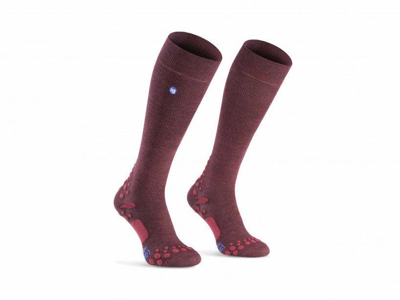 Care socks garnet