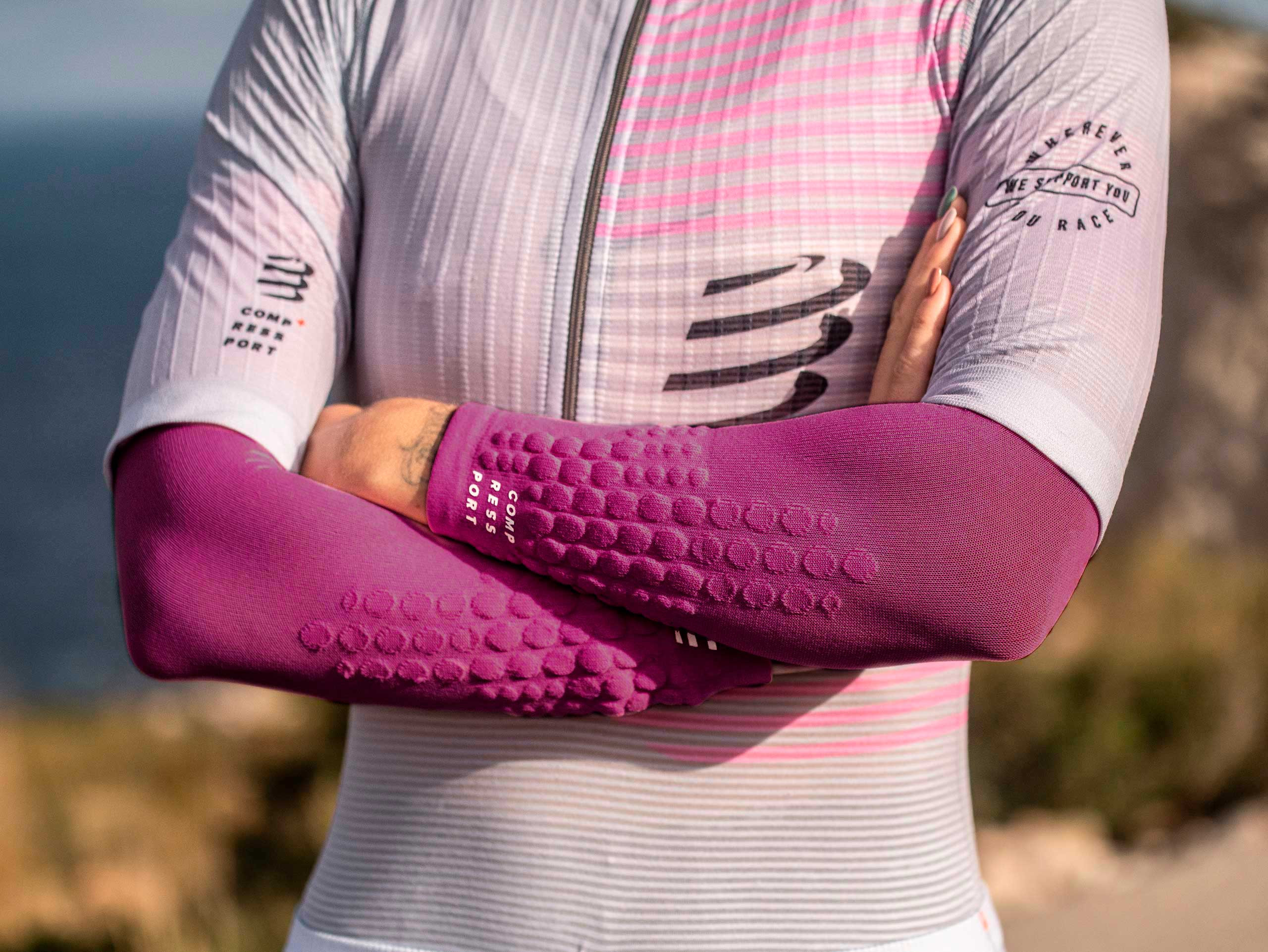 ArmForce ultraleggeri rosa melange