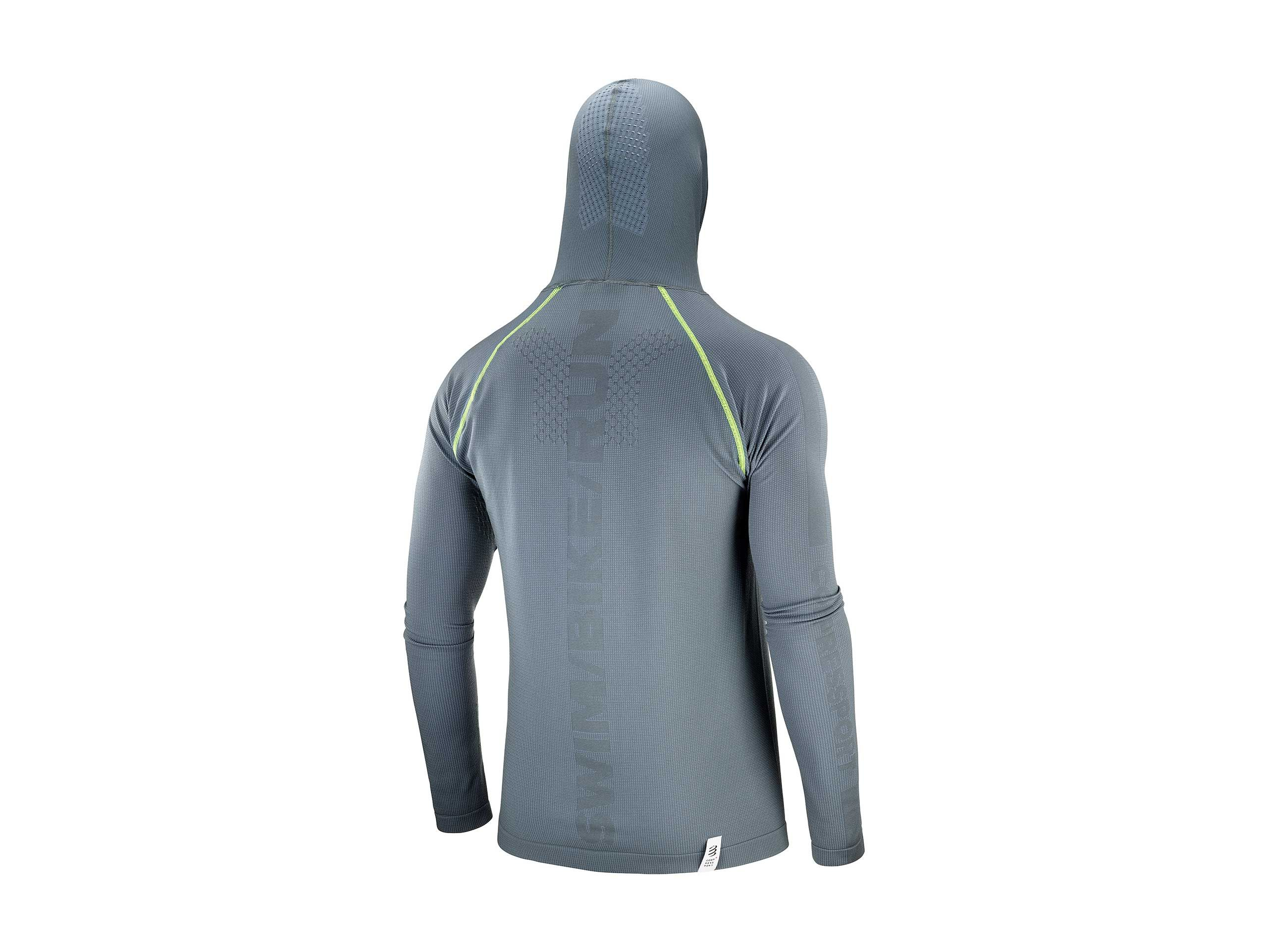 3D Thermo Seamless Hoodie - Born To SwimBikeRun 2020