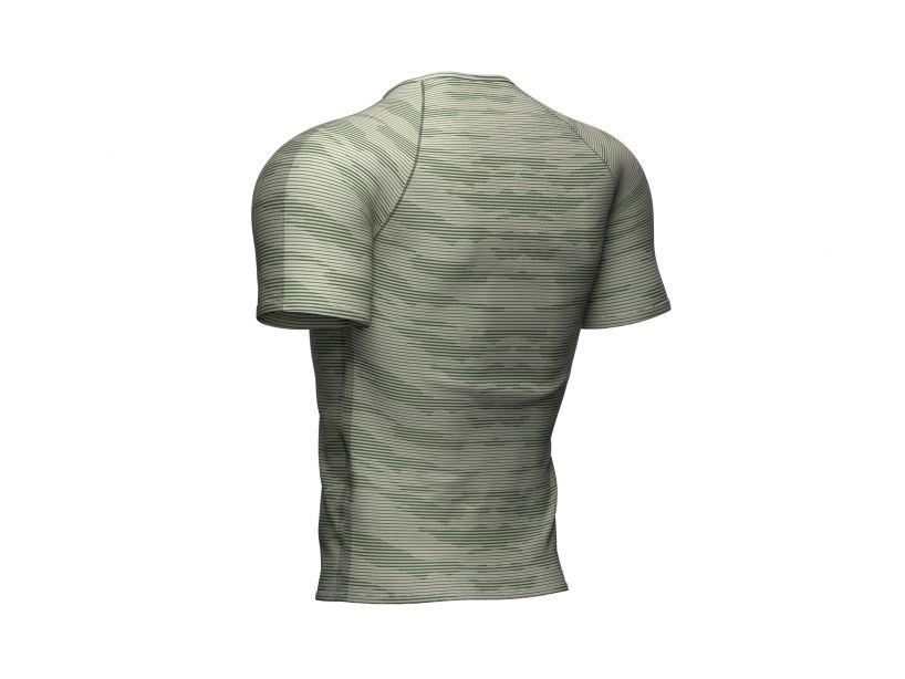 Training SS Tshirt Camo Stripe - Slate Green