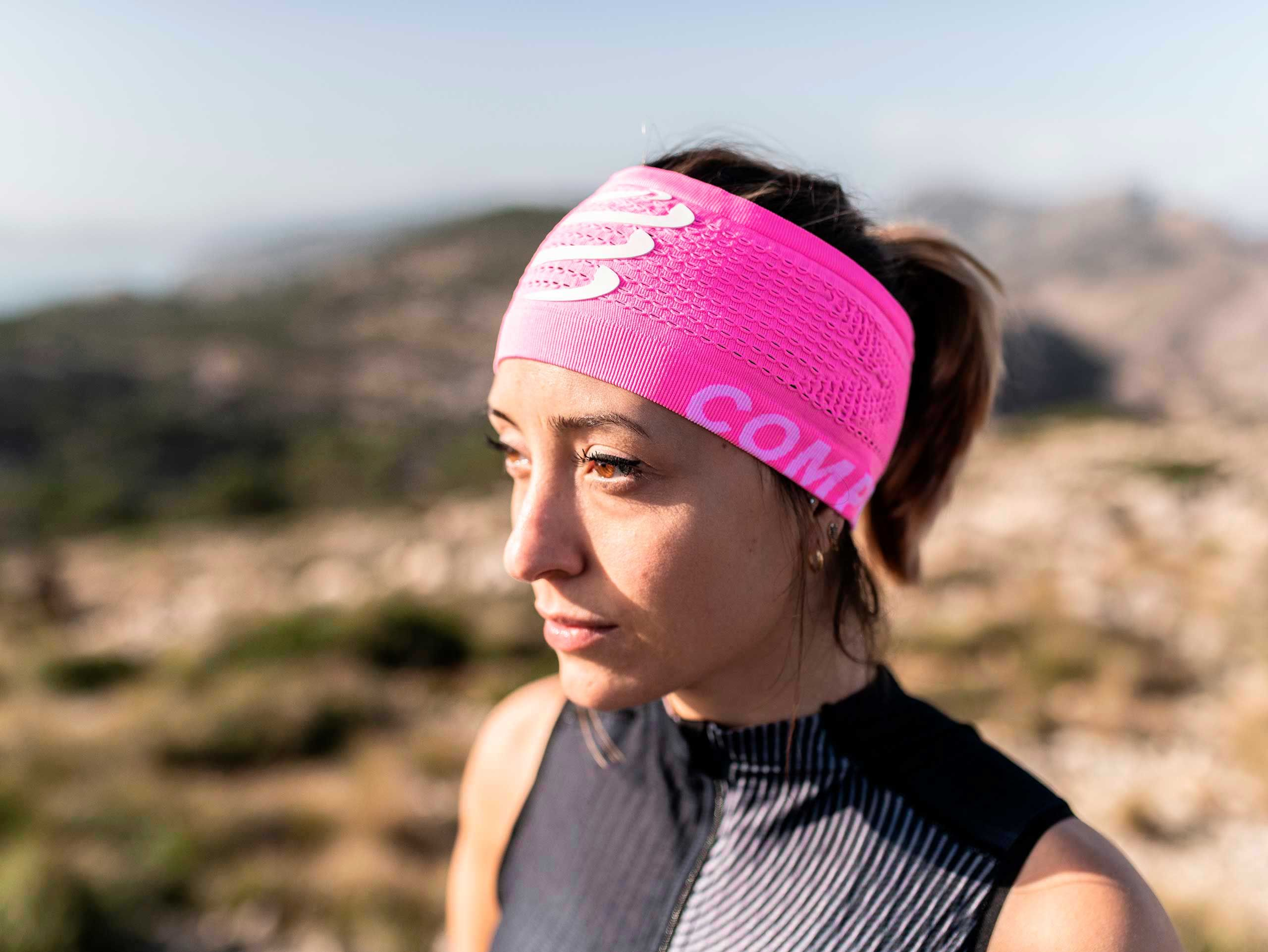 Headband On/Off pink