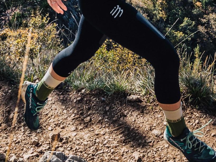 Pro Racing Socks Winter Trail - Dusty Olive
