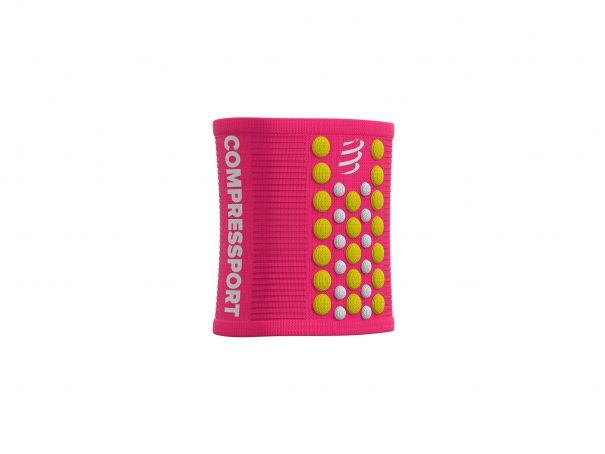 Sweatbands 3D.Dots PINK/YELLOW
