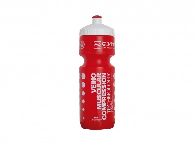 Cycling Bottle 750mL RED/WHITE