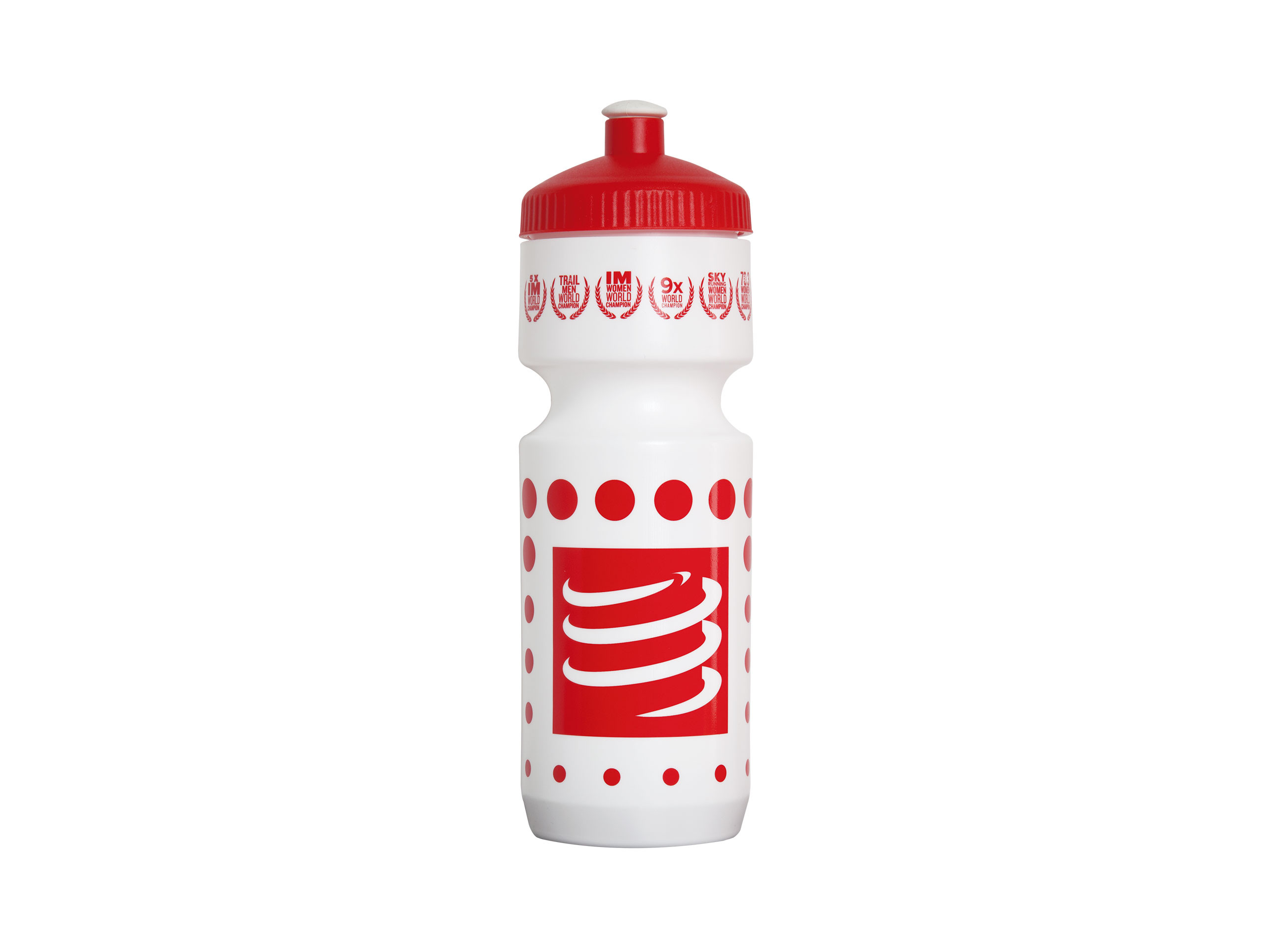 Cycling Bottle 750mL WHITE/RED