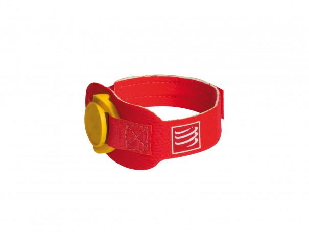 Braccialetto cronometro rosso