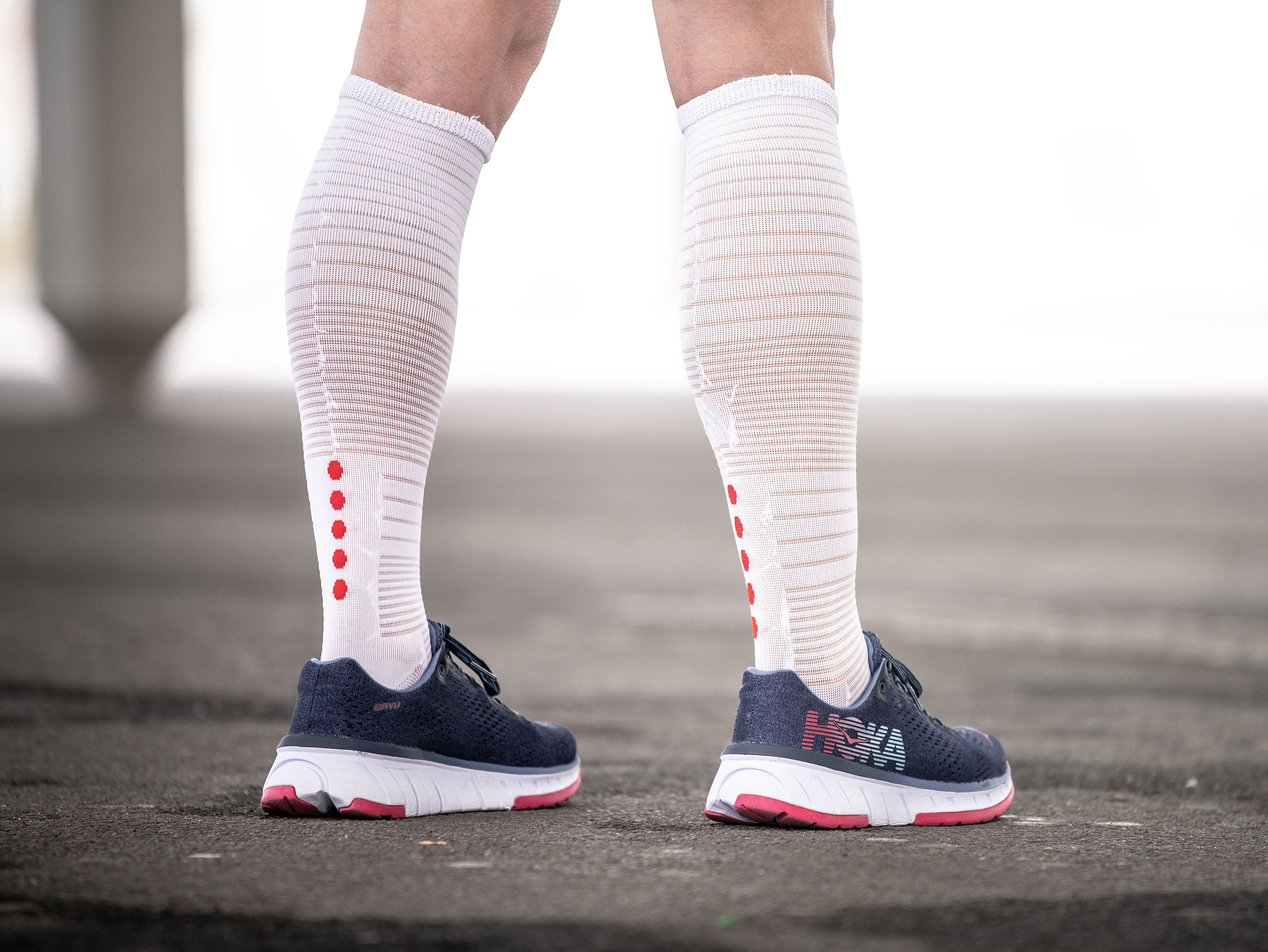 Full socks Oxygen white