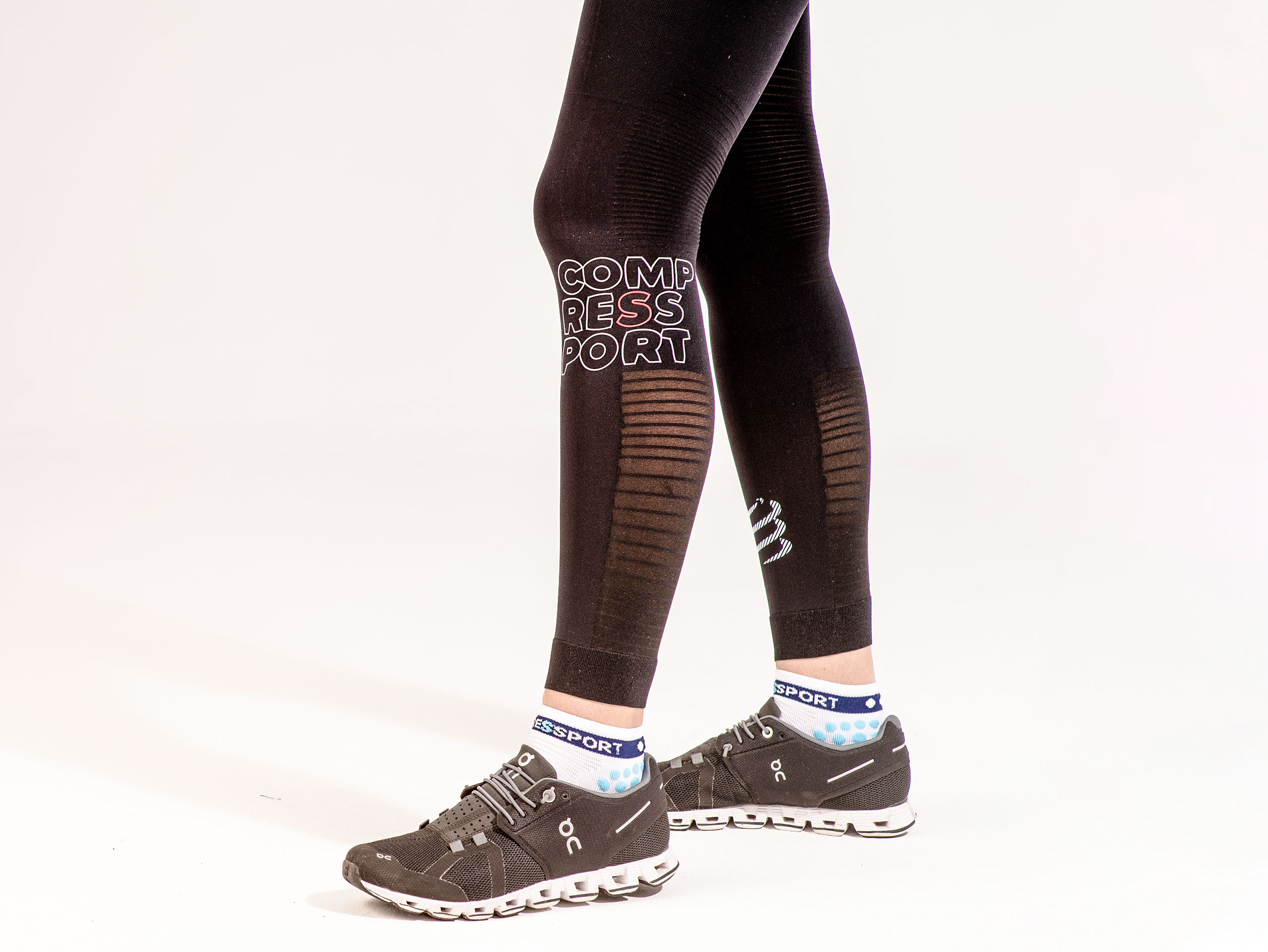 Leggings da corsa Under Control neri