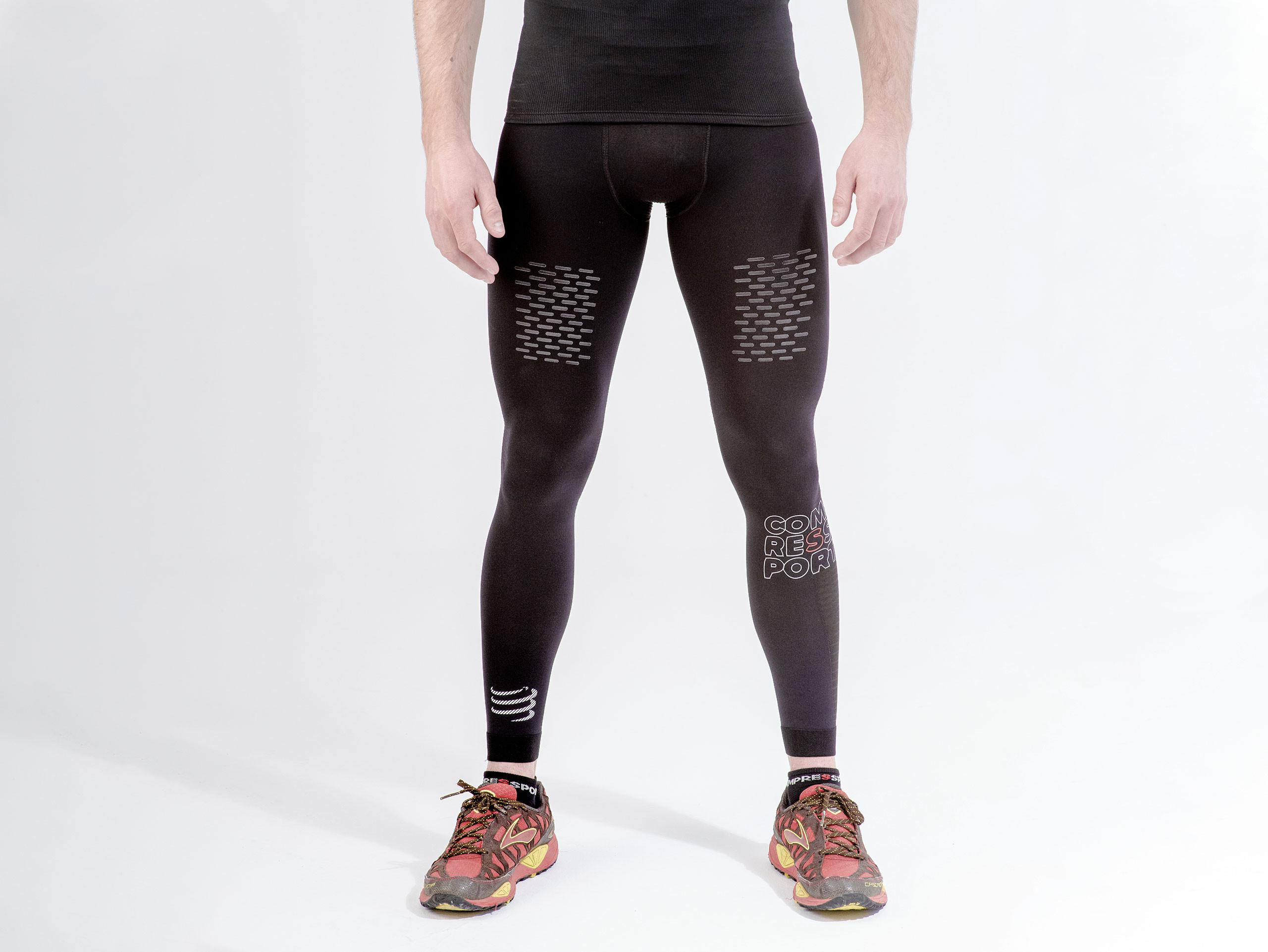 Pantaloni da trail running Under Control neri