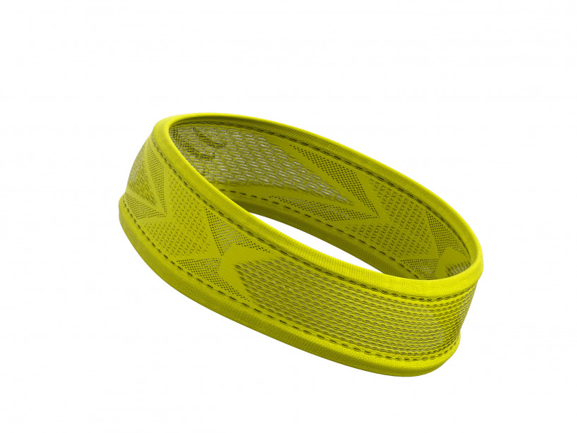 Thin HeadBand On/Off yellow