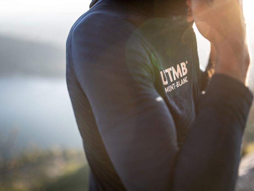 Ultra-Trail 180g Racing Hoodie - UTMB 2019 BLUE