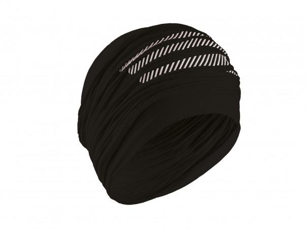 Headband termica ultra-leggera 3D nera