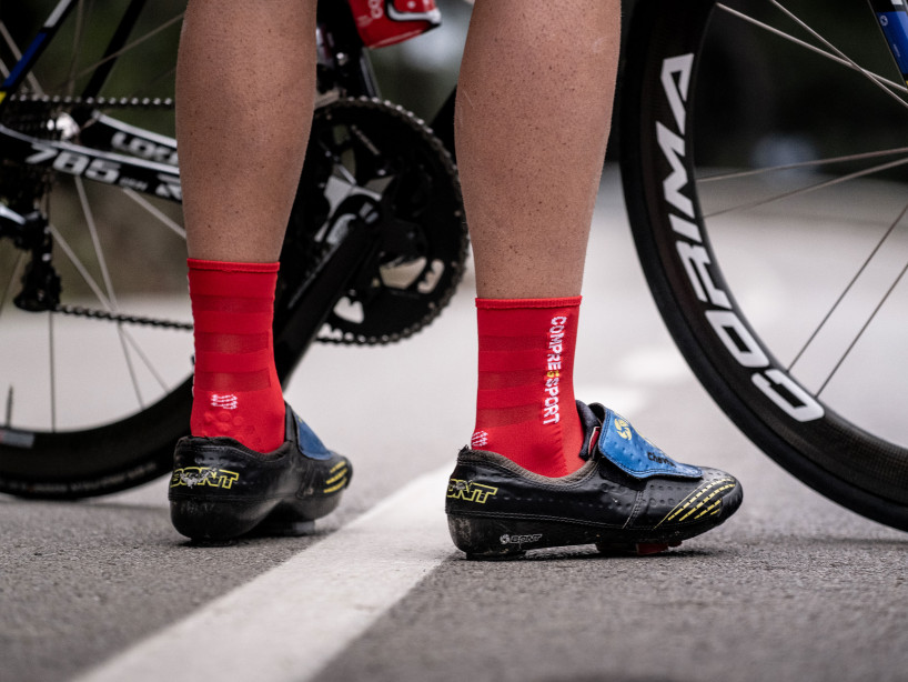 Pro Racing Socks v3.0 Ultralight Bike RED