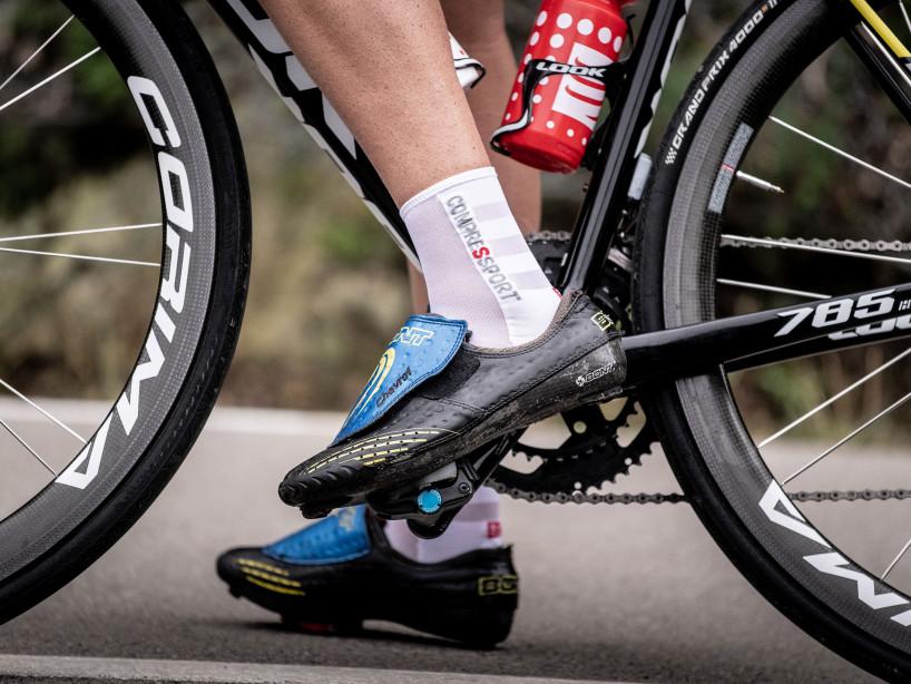 Calcetines deportivos pro v3.0 Ultralight Bike blancos