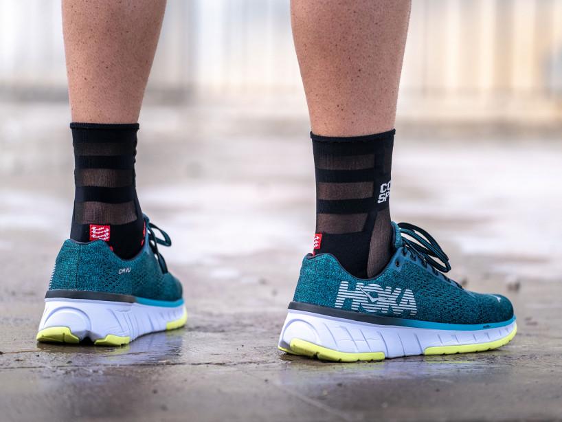 Pro Racing Socks v3.0 Run Ultralight Run High black/red