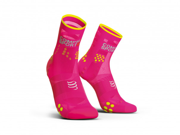 Pro Racing Socks v3.0 Ultralight Run High FLUO PINK