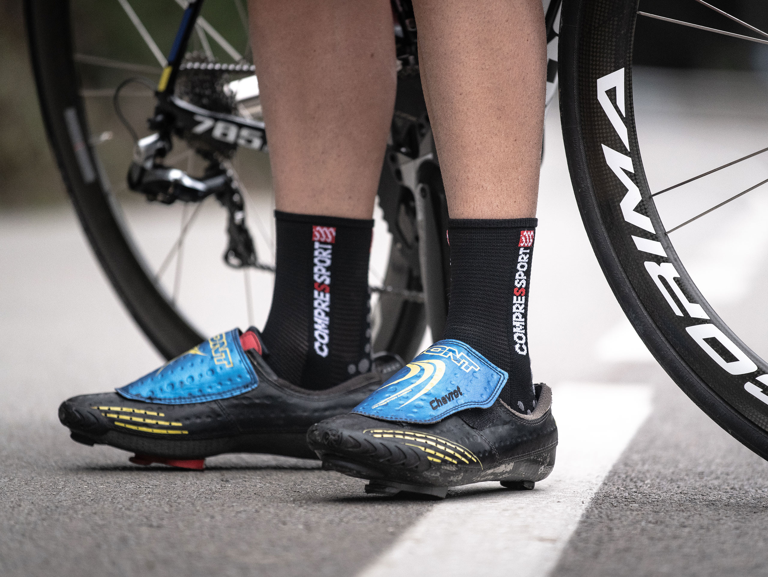 Pro Racing Socks v3.0 Bike schwarz