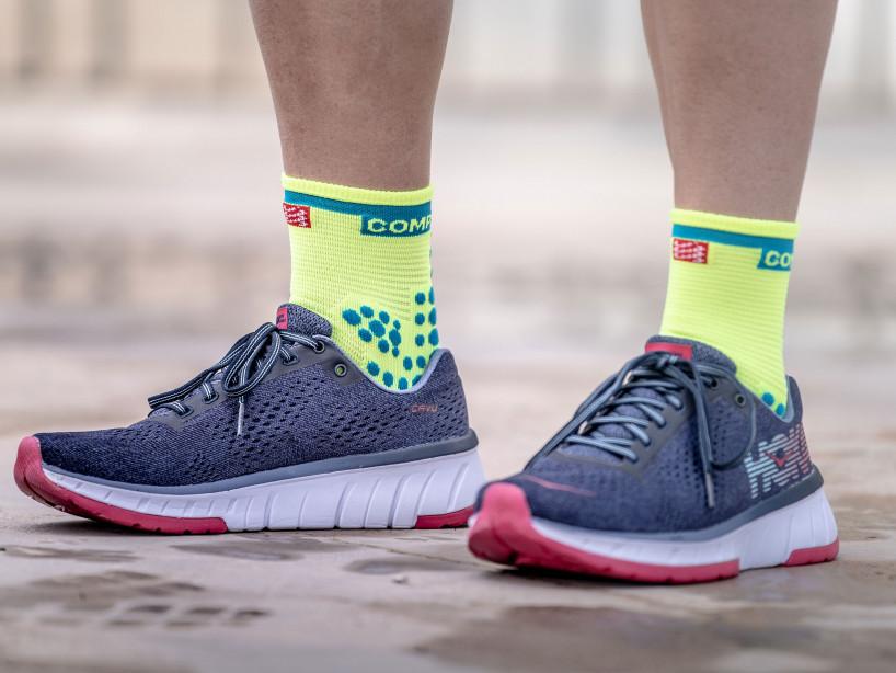 Pro racing socks v3.0 Run high Yellow