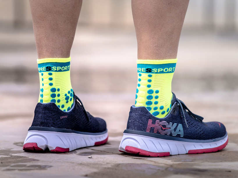Pro Racing Socks v3.0 Run High FLUO Jaunes
