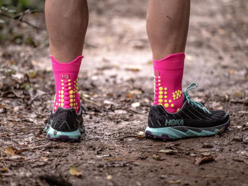 Pro Racing Socks v3.0 Trail FLUO PINK