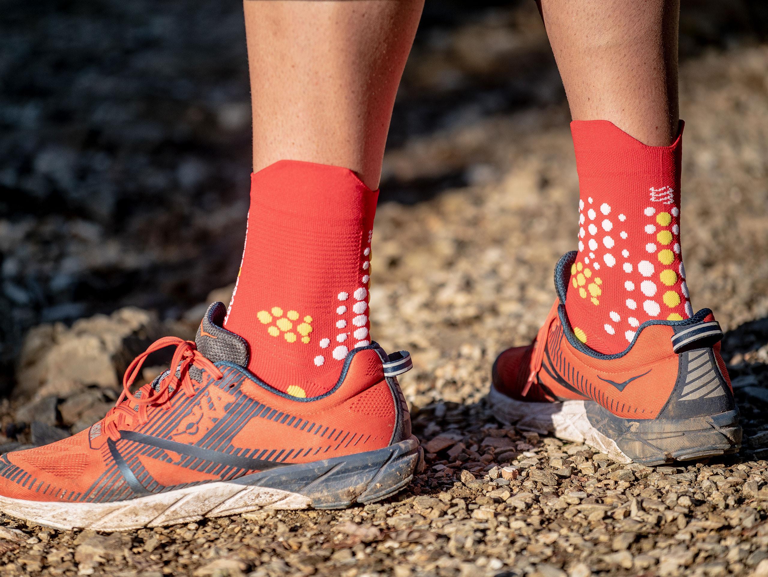 Pro racing socks v3.0 red/white