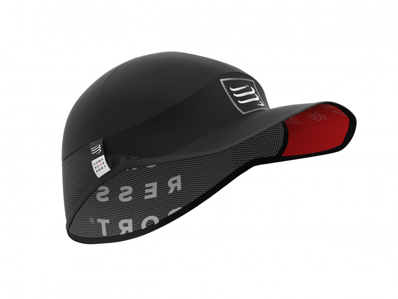 Gorra deportiva ultraligera pro negra