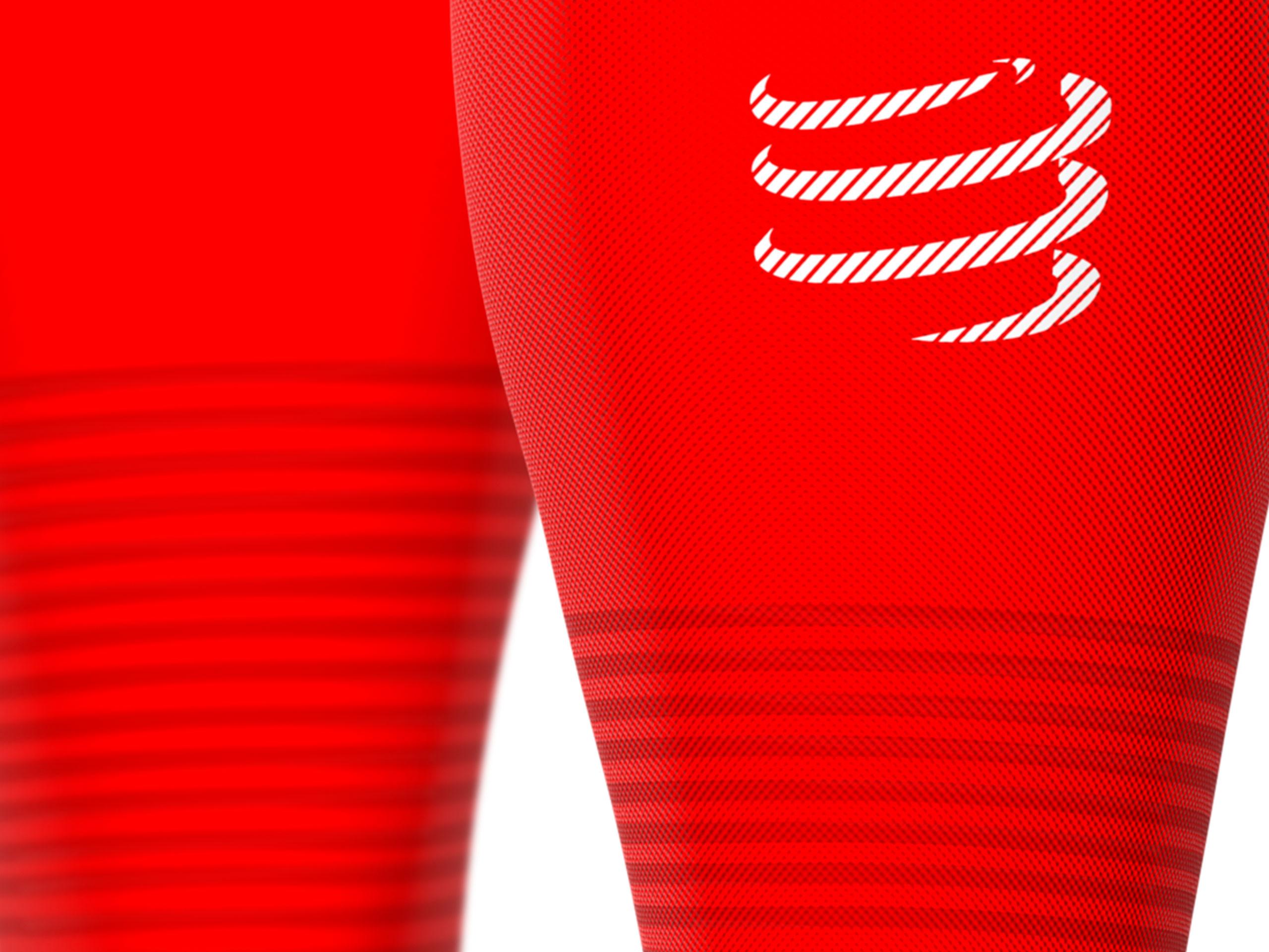 Pantorrilleras R2 Oxygen rojas
